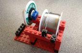 Carrete de soldadura de LEGO + mecha titular