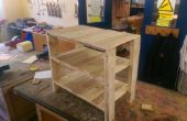 Pallet Storage table