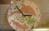 Reloj hecho a mano «Antigua Grecia»