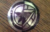Capitán América/Iron Man bolsillo monedas