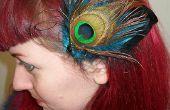 Fascinator de la pluma DIY