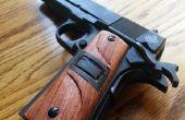 Mangos de pistola madera personalizado