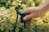 Cómo instalar goteo riego