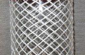 Nudos de cabeza de turcos en una botella