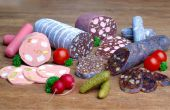 Caramelo fría Aka cortes salchichas dulces