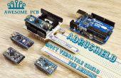 AdruShield-escudo de Arduino más versátil jamás
