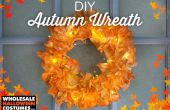 DIY corona de otoño - suministros de fiesta por mayor