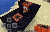 Cañón de TNT de Minecraft