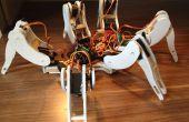 Construyamos un robot hexapodo hecha a mano