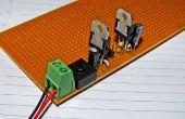 Doble voltaje regula la fuente de energía para proyectos Arduino/microcontrolador