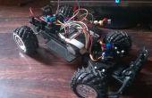 Arduino RC coche con el transmisor personalizada y de largo alcance.