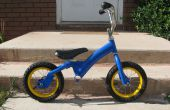 Bici del Balance del niño de la bicicleta de niño usada