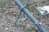 Mortero del cohete de agua DIY