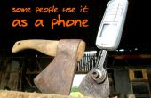 Instantánea aka hacha hacha celular