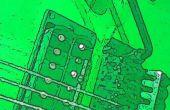 Arduino Due entrada guitarra de ADC y DAC salida mezclador