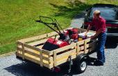Cómo construir un remolque de utilidad de un Kit de