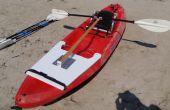 ADAPTACIÓN accesorio para remar a kayak