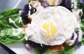 RECETA | Ensalada de eneldo caliente Papa huevo