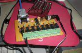 Tablero de Control de relé de 8 canales con comunicación Serial