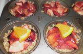 Mini frutas de la tarta del bosque