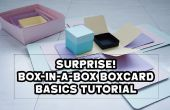 ¡ SORPRESA! Explosión de caja en caja caja tarjeta