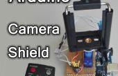 Montaje de cámara control remoto Arduino – ir objeto seguimiento escudo
