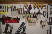 Organizador de herramientas rápida, barata y fácil de