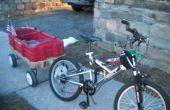 Cómo hacer un remolque de bicicleta de un vagón