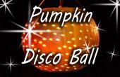 Calabaza bola de discoteca - fiesta de Halloween