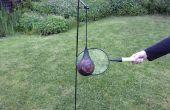 Machacador de pelota de patio trasero