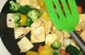 Vamos a cocinar Tofu Stir Fry