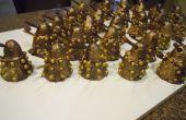 Un ejército de Daleks pasteles
