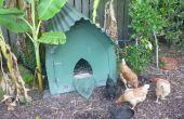 Construir un gallinero gótico (o casa de perro de la perrera o cerdo o...)