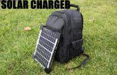 Cómo hacer una mochila de Cargador Solar para teléfonos