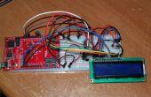 LCD termómetro proyecto TI MSP-EXP430FR5739 FraunchPad