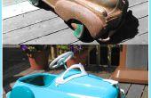 Cómo restaurar un coche antiguo de Pedal