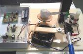 Inalámbrico transmisor de código Morse de timbre y de la impresora