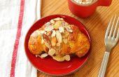 Croissants de almendra caseros