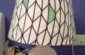Nueva pantalla para lámpara vintage