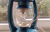 Restauración de la vieja lámpara de aceite