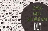 Papel de regalo de Emoji