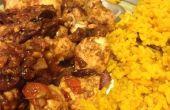 Pollo Tikka Masala con arroz de cúrcuma