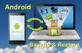 Cómo hacer copia de seguridad teléfono Android o Tablet