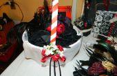 DIYish boda cesta de la muchacha de flor personalizada; Decoración de ceremonia
