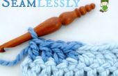 Cómo cambiar los colores perfectamente en Crochet... Sin ese pequeño puente!