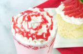 Receta de frapuccino Strawberry Shortcake