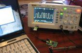Generador de forma de onda arbitraria Atmel Xmega USB/Serial