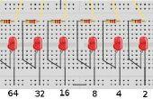 Proyecto de tecnología - W65C02SXB binario contador LED 65xx