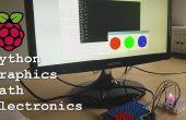 Frambuesa Pi - GPIOs, interfaz gráfica, pyhton, matemáticas y electrónica.