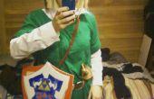 Bajo presupuesto traje de Link (The Legend Of Zelda)